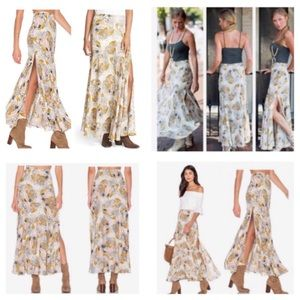 caa94cba0a Free People Skirts - 🆕Free People Pebble Fate Floral Maxi Skirt. NWOT.